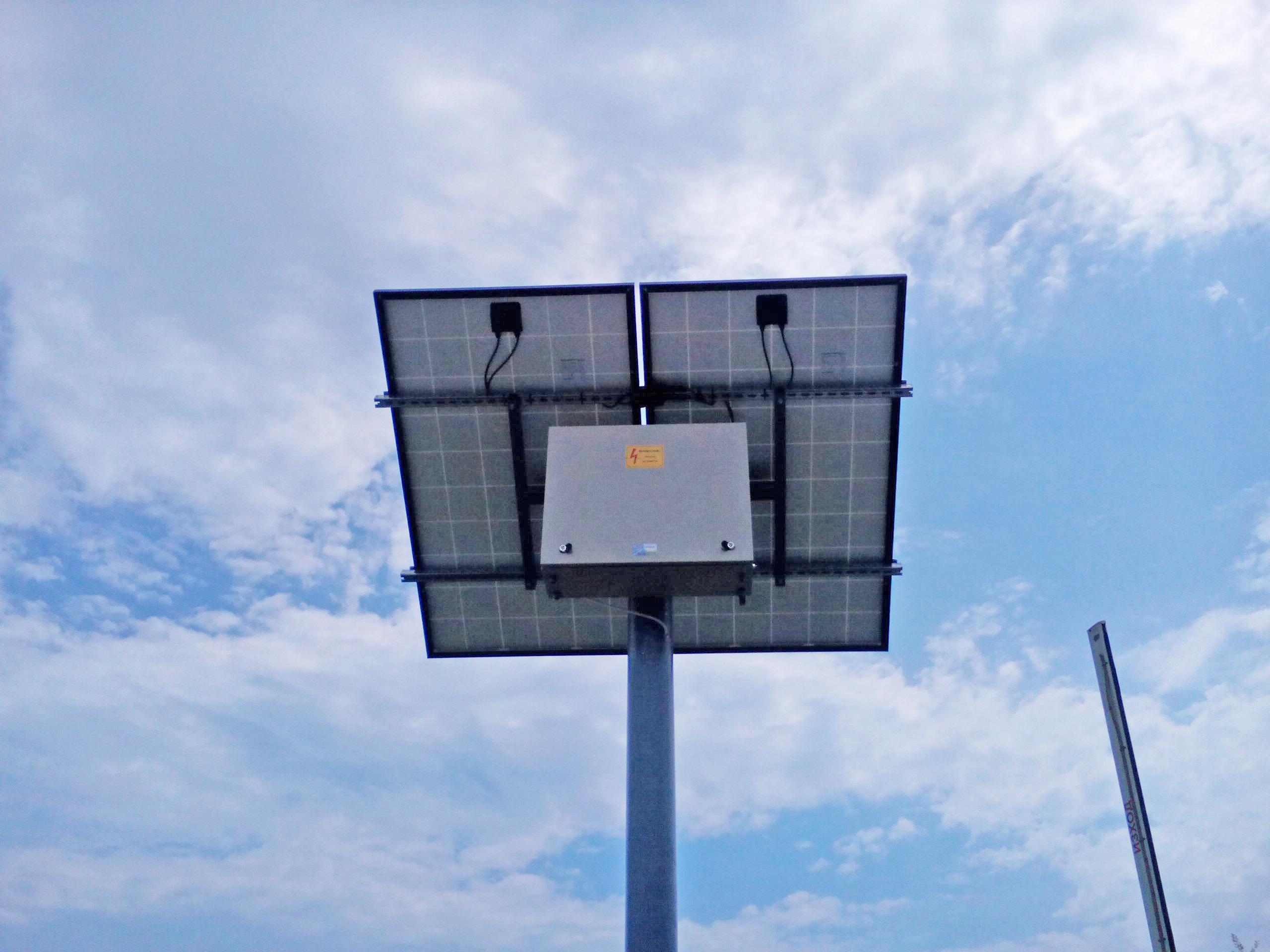 Автономна соларна система за ток от сс солар.