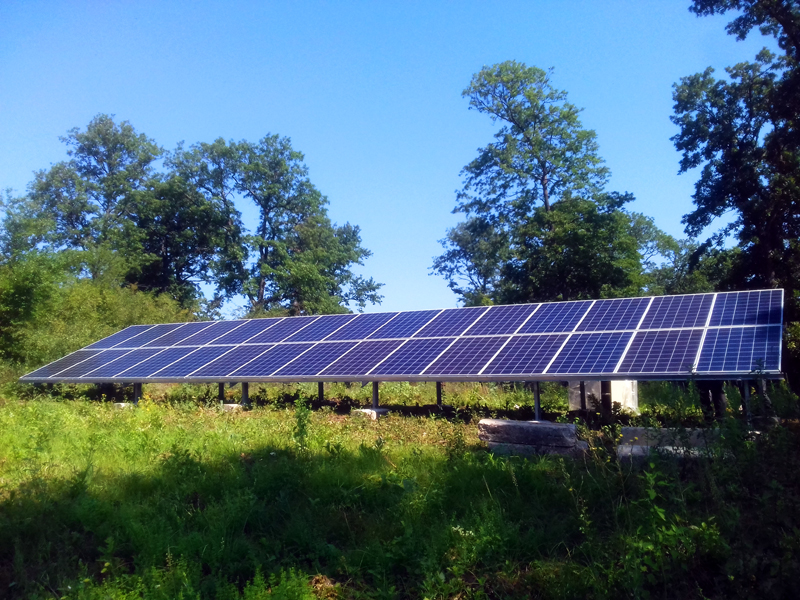 автономно соларно захранване