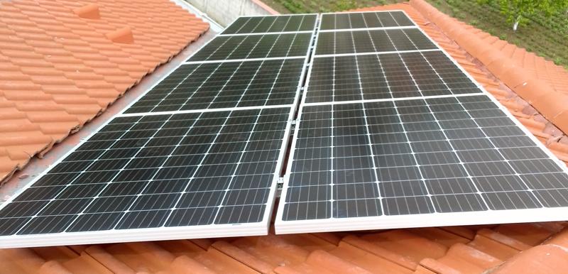 8 броя 315Wp монкристални соларни панели