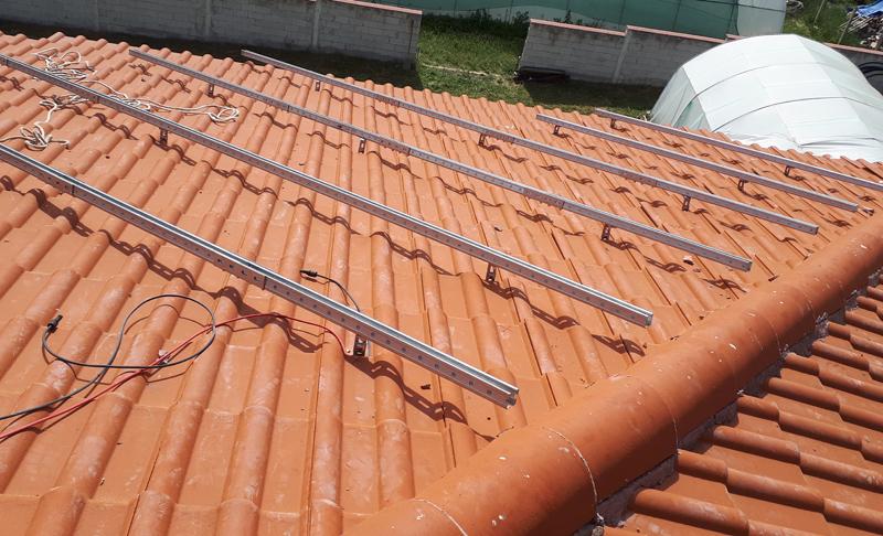 конструкция за соларни панели