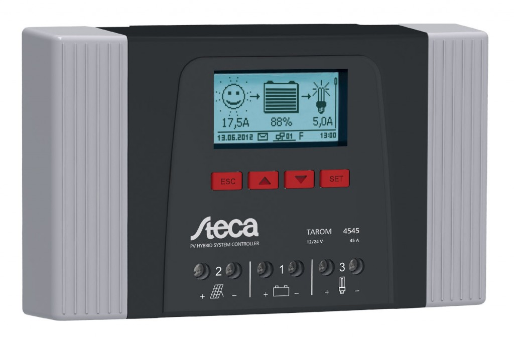 соларни зарядни контролери Steca